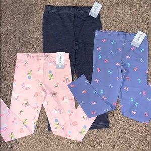 Carters 5t bundle of leggings